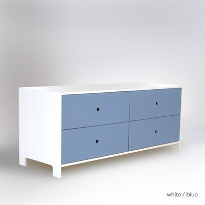ducduc Parker 4 Drawer Low Dresser