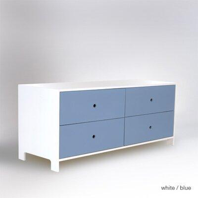 ducduc Parker 4 Drawer Low Dresser