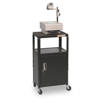 Balt Adjustable Utility Cart with Cabinet