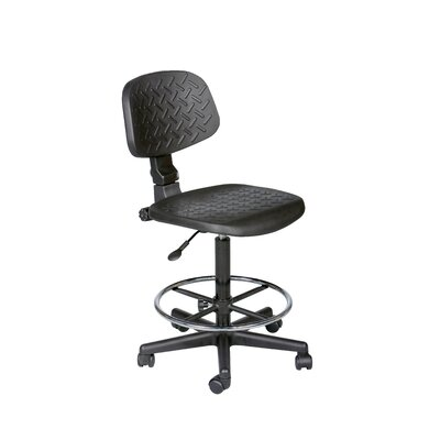 Balt Height Adjustable Trax Stool with Footrest