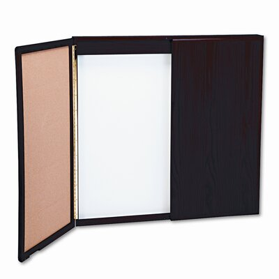Balt Wood Best-Rite® Wood Conference Cabinet 4' x 4-8' Whiteboard