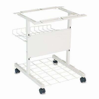 Balt BALT® Adjustable Single Printer Stand with Printout Basket