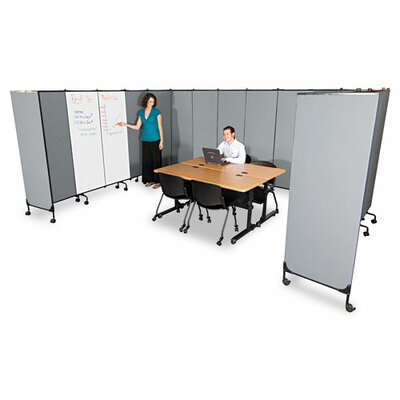 Balt GreatDivide Fabric Add-On Panel, 64w x 3d x 72h, GY