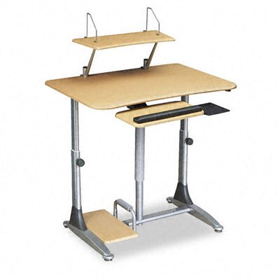Balt Ergo Sit/Stand Workstation, 41w x 29d x 29-39h, Steel Base (Box One)