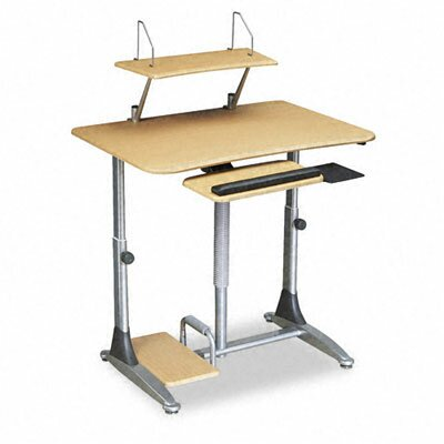 "Balt BALT Ergo Sit/Stand 41"" W x 2"" D Workstation Top Table"