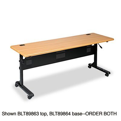 Balt Flipper Training Table, 72w x 24d, Teak