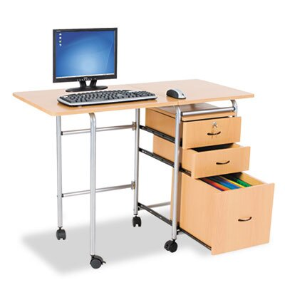 "Balt BALT Fold-N-Stow 41.75"" W x 19.88"" D Workstation Table"