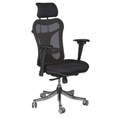 Balt Adjustable Height Executive Chair with Headrest