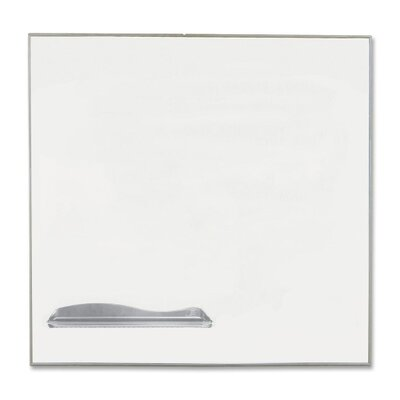 Balt Porcelain Magnetic Markerboard,5/16&quot; Frame,3''x4'', White