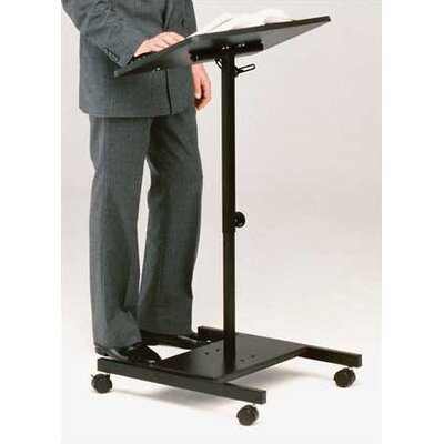 Balt Scamp Adjustable Height Laptop/Speaker Stand