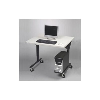 "Balt Brawny 36"" W Table with CPU Holder"