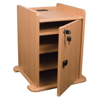 "Balt 14"" Presentation Cart Locking Cabinet"