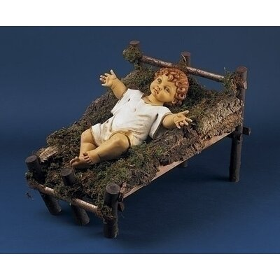 "Fontanini 50"" Scale Gowned Infant Jesus Nativity Figurine"