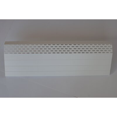 Neat Heat Baseboard Covers Bright White Front Cover