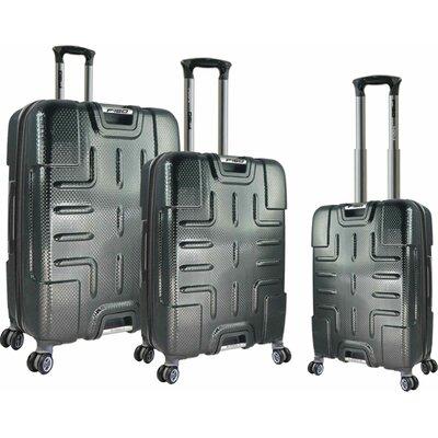 Textured 3 Piece Luggage Set