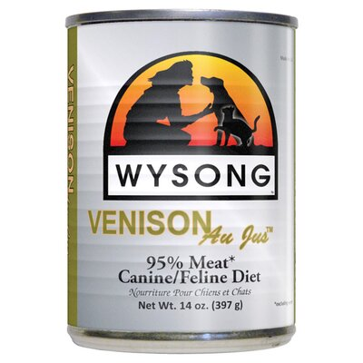 Wysong Au Jus Variety Pack™ Canned Diet Wet Dog / Cat Food (14-oz, Case of 6)