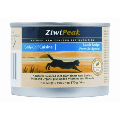 ZiwiPeak Canned Lamb Wet Cat Food (6-oz, case of 12)