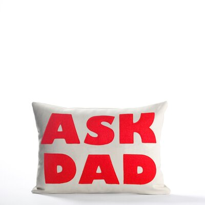 "Alexandra Ferguson ""Ask Dad"" Pillow"