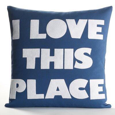 Alexandra Ferguson I Love This Place Decorative Pillow