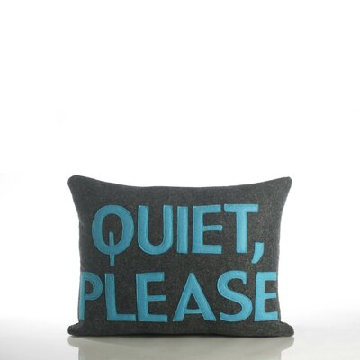 Alexandra Ferguson Quiet Please Decorative Pillow