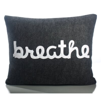 "Alexandra Ferguson Zen Master ""Breathe"" Decorative Pillow"