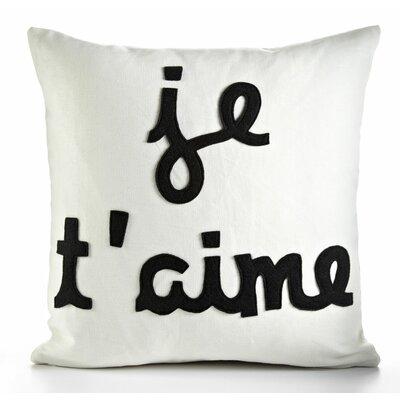 Alexandra Ferguson Je T'Aime Decorative Pillow