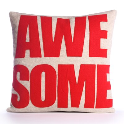 Alexandra Ferguson Awesome Decorative Pillow