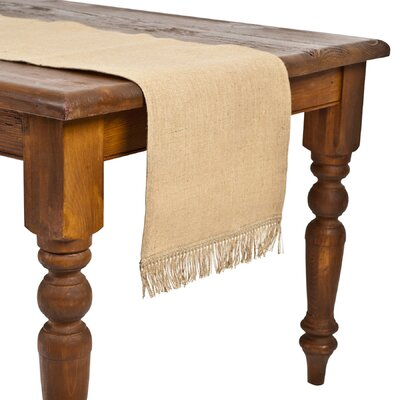 Ecoaccents Burlap Table Runner