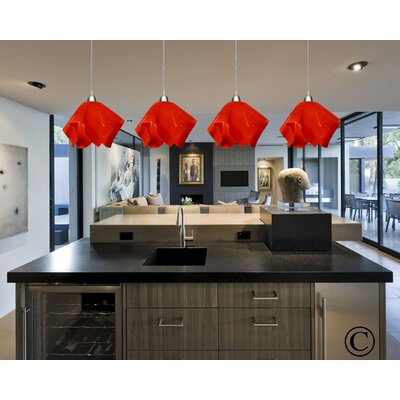 Jezebel Gallery Radiance 1 Light Flame Track Lighting Pendant