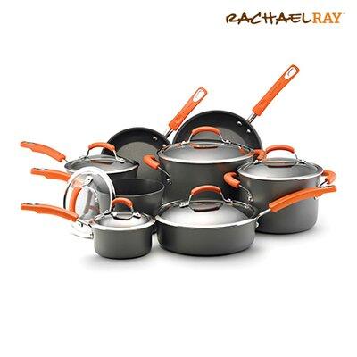 Rachael Ray Hard Anodized II Nonstick 14 Piece Cookware Set