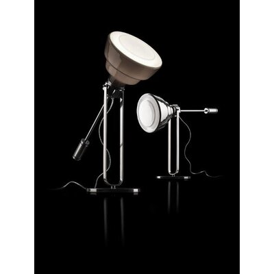 "Foscarini Diesel Glas 23.09"" H Table Lamp with Bowl Shade"