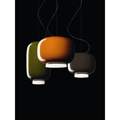 Foscarini Chouchin 2 Suspension Lamp in Green