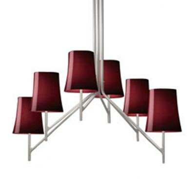 Foscarini Birdie 6 Light Chandelier