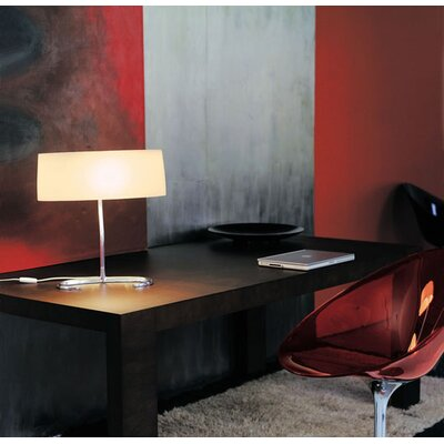 "Foscarini Esa Piccola 12"" H Table Lamp with Rectangle Shade"