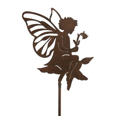 Fairy with Flower Garden Stake