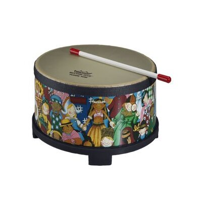 Remo Rhythm Club Rhythm Kids Graphics Floor Tom Drum