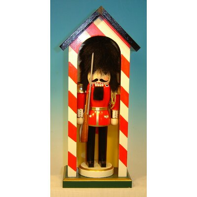 Horizons East Soldier in Guardhouse Nutcracker