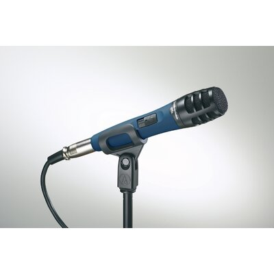 Audio-Technica Handheld Stand Hypercardioid Dynamic Instrument Microphone
