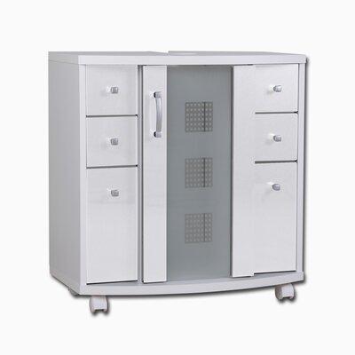 Lastest  Storage Shelf Bathroom Office Cabinet With WheelsFSS10 UK  EBay