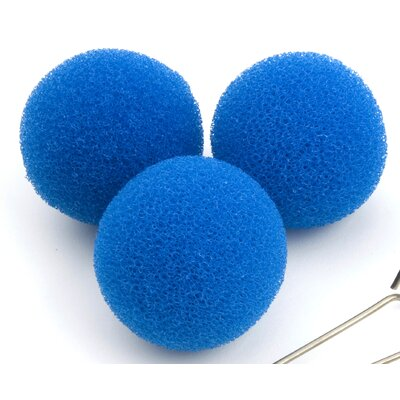 Droog Spare Sponges in Blue (Set of 3)