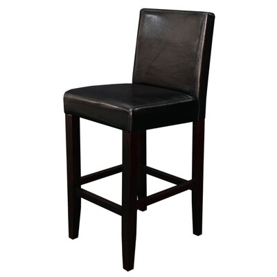 Monsoon Pacific Villa Faux Leather Counter Stools (Set of 2)