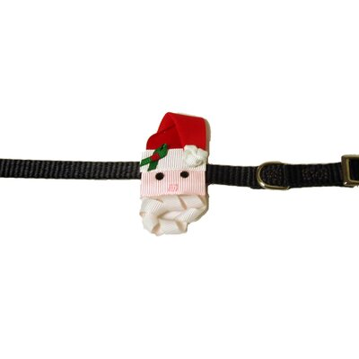 A Pet's World Santa and Reindeer Collar and Leash Enhancers