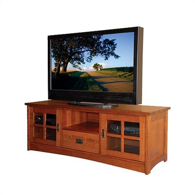 "Anthony Lauren Craftsman Entertainment 65"" TV Stand"