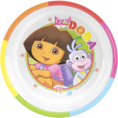 Zak Nickelodeon Dora The Explorer Rimmed Bowl amp Reviews