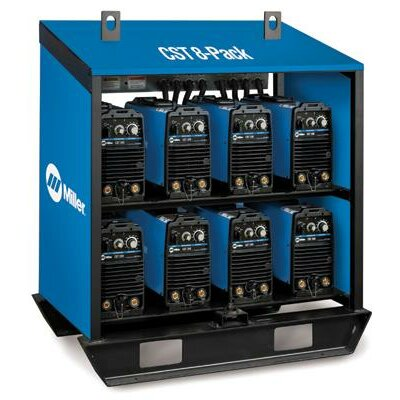 Miller Electric Mfg Co 280 And Maxstar® 200 Rack With Eight CST 280 Units Linked For 220-230/460/575 Volt With Tweco® Style Connectors 3 Phase 60 Hertz