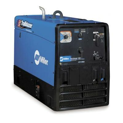 Miller Electric Mfg Co Trailblazer 302 Multi-Process Generator Welder 300A with 20HP Kohler LP Engine and GFCI Receptacles