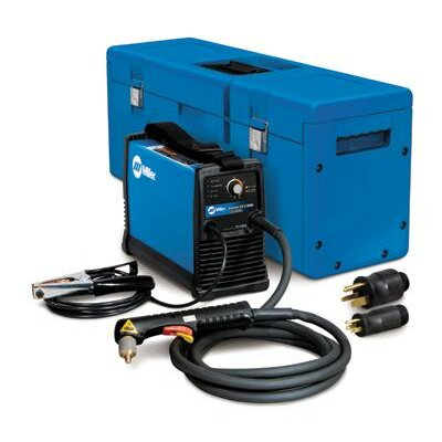 Miller Electric Mfg Co 375 X-TREME 230V Plasma Cutters Welder with Auto-Line, MVP Plugs and X-CASE Carry Case