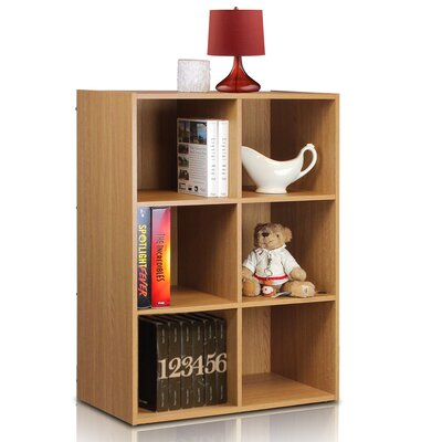 Furinno Click and Easy Kuib 6 Cube Bookcase Storage Unit