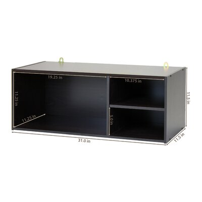 1000 Series Wall-Mounted Storage/Desk Hutch