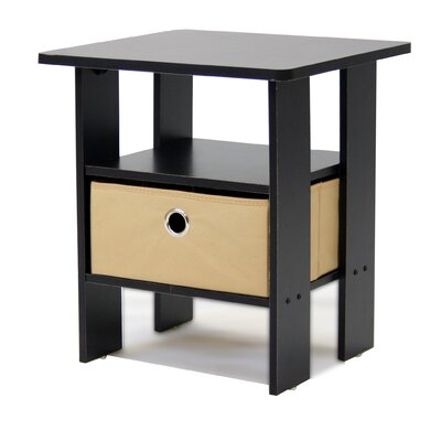 Furinno Espresso Living End Table